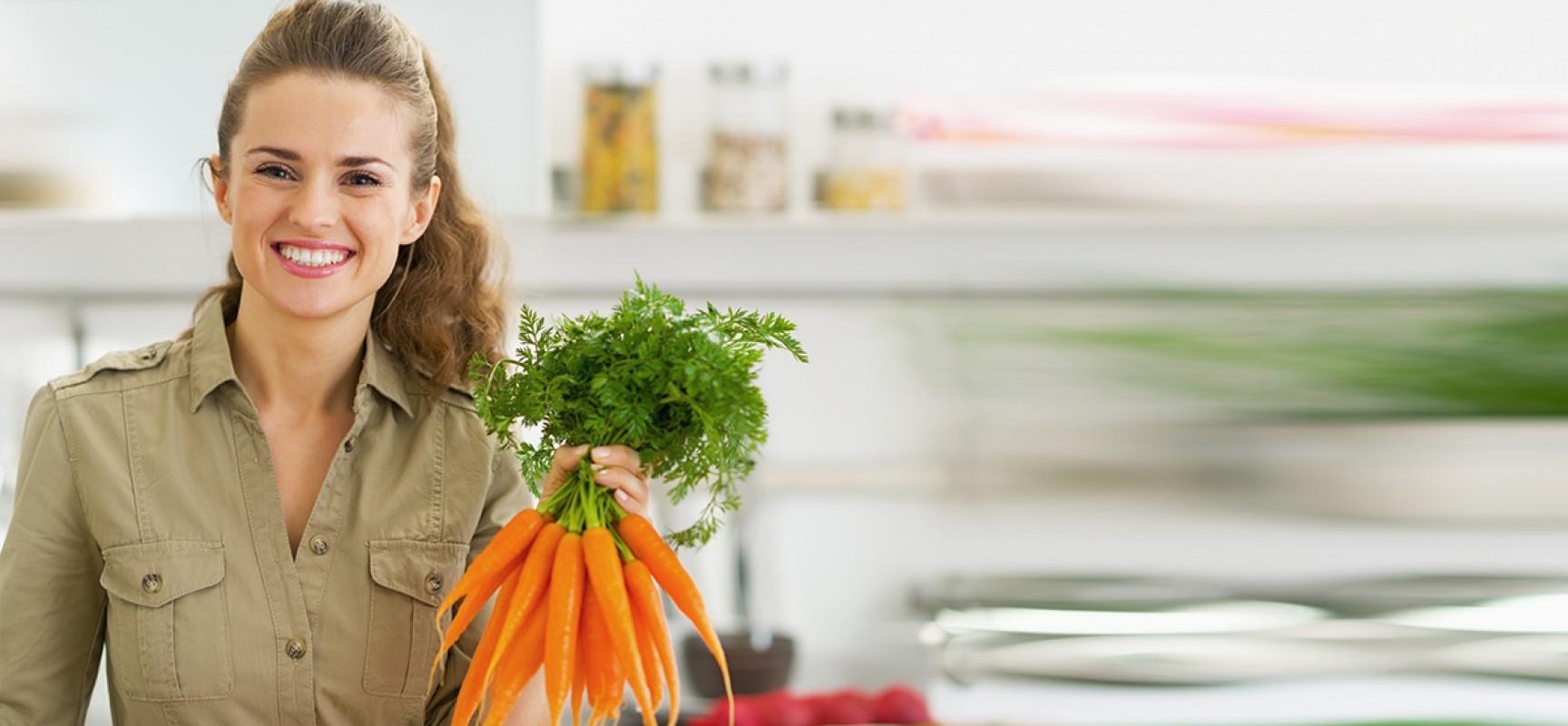 Cenoura, ela pode transformar sua saúde!