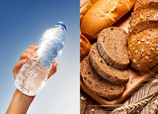 Para regular o intestino, beba água e consuma fibras