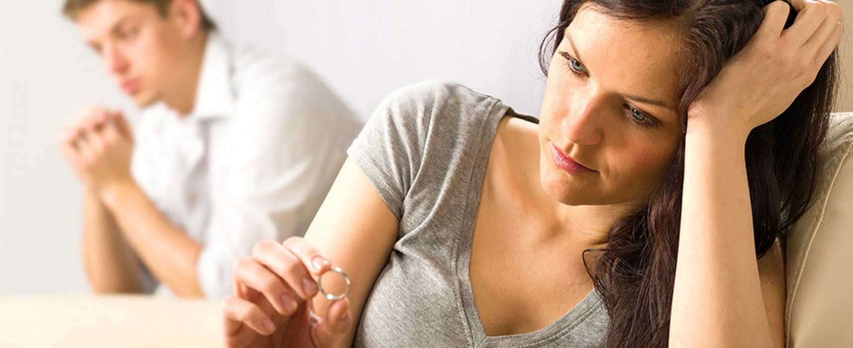 Motivos psicológicos para o divórcio